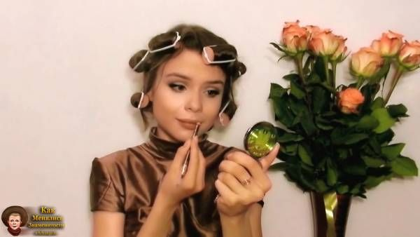 MW / Макияж Jessica Alba Вечерний макияж маникюр (2012)