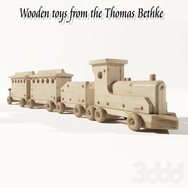 Wooden toys from the Thomas Bethke (NEXT_3)