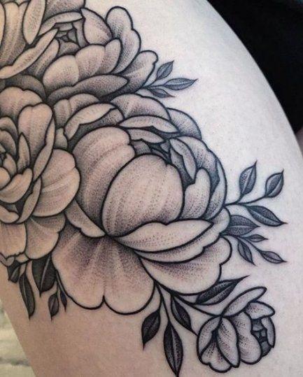 23 Ideen für Tattoos ideen oberschenkel rosen – – #tattooideen
