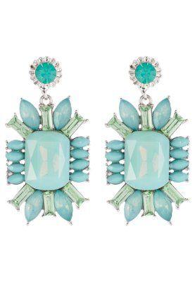 Mit diesen Ohrringen bekennst du Farbe. sweet deluxe Ohrringe - weiß/türkis für 29,95 €