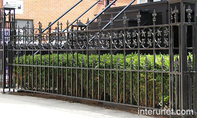 33 best images about ornamental fencing ideas on pinterest steel fence fencing and fence styles - Aluminum vs steel fencing ...