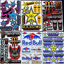 6 fantastic sheets Zce motocrosss stickers mx energy drink bike SCOOTER bmx RC