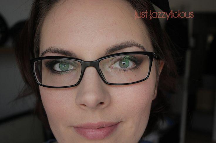 just jazzylicious: Augen Make Up Anleitung für Brillenschlangen