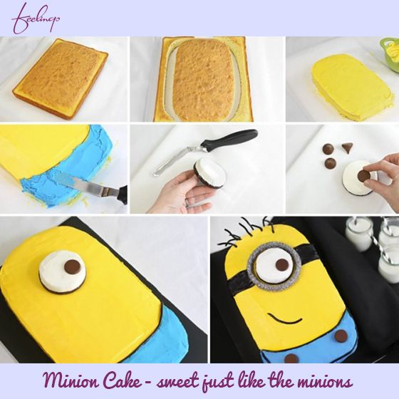 Delectable & delicious, these #cakes have the shape of Minion characters from the animated film Despicable Me. Learn how to make these perfect tasty cake for your kids #birthday parties.