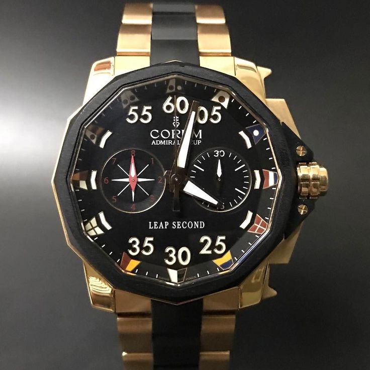 Corum Admiral's Cup Chronograph Leap Second. #watchporn #watchmania #wristwatch #watchoftheday #timepiece #secondhand #instawatch #secondoriginalwatch #jamtanganseken #preownedwatch #luxurywatch. www.mulialegacy.com
