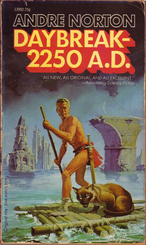 Starman's Son (a.k.a. Daybreak-2250 A.D.) by Andre Norton. This was the first book I ever read by Andre Norton when I was ten. I haven't stopped reading her stuff since then.