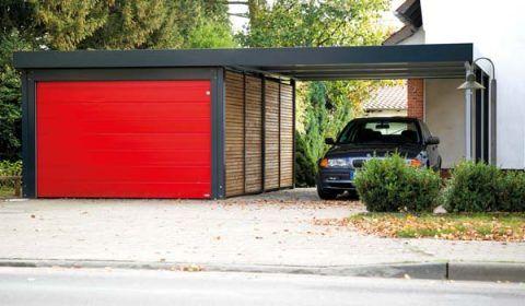 Doppelcarport mit Garage von Siebau