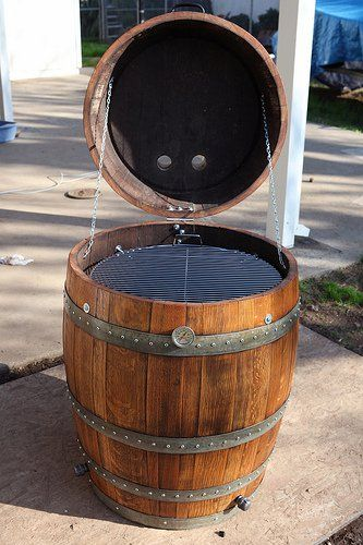 Wine Barrel Smoker Project - The BBQ BRETHREN FORUMS.