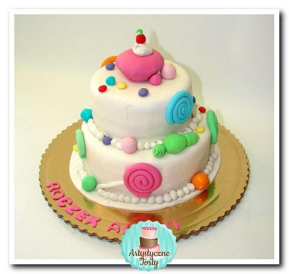 Cukierkowy Tort