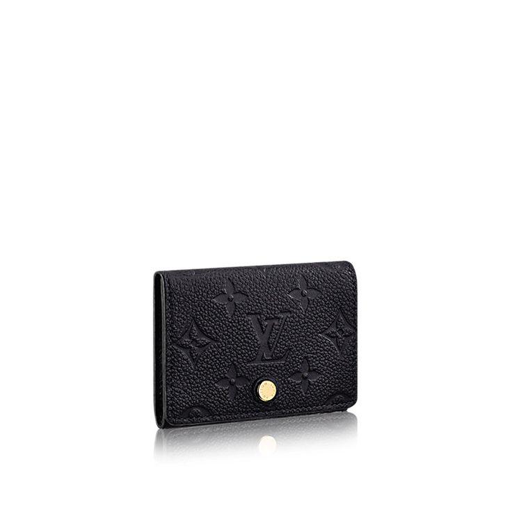 Porte-cartes de visite Cuir Monogram Empreinte FEMME PETITE MAROQUINERIE Porte-clés et porte-cartes   LOUIS VUITTON