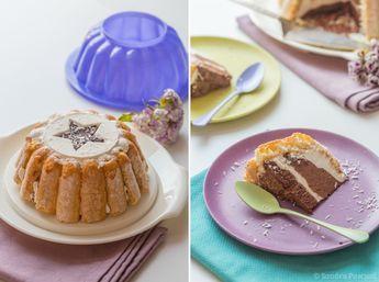 Charlotte Noix de coco & Chocolat – Concours Tupperware inside