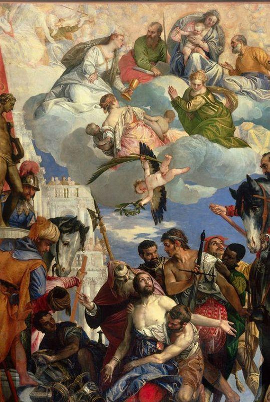 Paolo Veronese (1528-1588), 'The Martyrdom of Saint George', about 1565. Oil on canvas. 426 x 305 cm. San Giorgio in Braida, Verona © Chiesa...