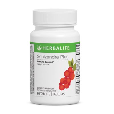 http://catalog.herbalife.com/Catalog/en-US/Targeted-Nutrition/Immune-Health/Schizandra-Plus Take 1 tablet 2 times per day.Key Benefits Provides general antioxidant support against free radicals.* Supports the body's natural defense against oxidative stress.* Supports immunity and cellular health.* Vitamins C and E support the immune system.* Excellent source of Vitamins A, C, E, and B6 and selenium.
