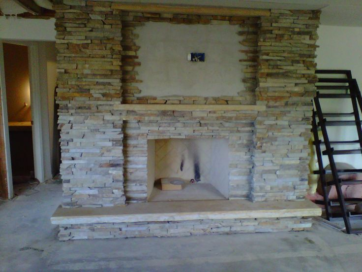 Ledgestone Fireplaces Homeowner Design Virginia