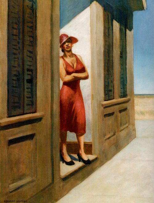 1955 Edward Hopper - South Carolina Morning