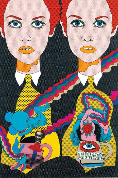 The hallucinogenic Pop artwork of Japanese master Keiichi Tanaami | Dangerous…