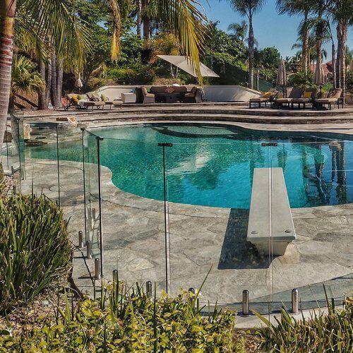 Glass Pool Fences Glass Railings Aquaview Glass Pool Fencing Pool Fence Fence Around Pool