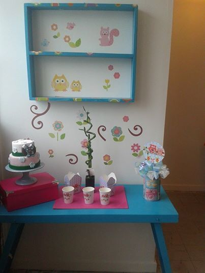Exposition of decoration in my shop