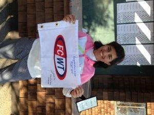 FCWT junior golfer Tufail wins at the FCWT junior golf tournament 2015 at Sandpiper