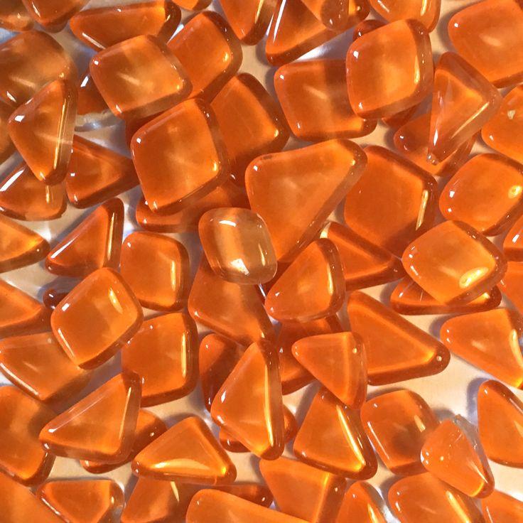 Glassteen,Mozaïek, oranje