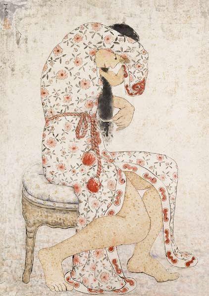 Making Up, 1964, Pan Yuliang (1895 -1977).