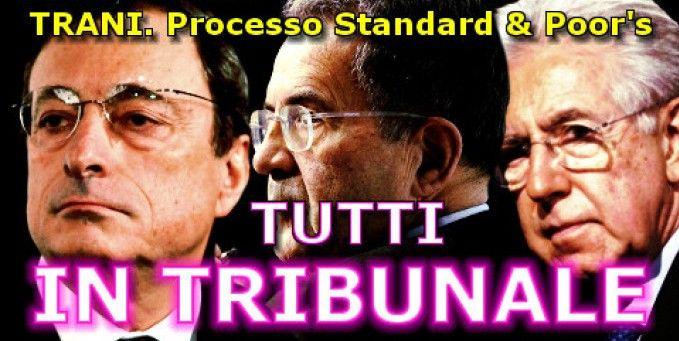 Dovrebbe essere su tutte le prime pagine dei giornali.E invece è solo in rete.Tutti in tribunale.VIDEO http://jedasupport.altervista.org/blog/cronaca/tribunale-processo-standard-poors/#