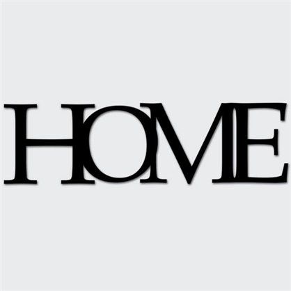 Napis HOME - Liv-Art.pl