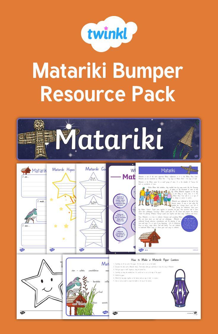 Matariki Bumper Resource Pack - all your needs!