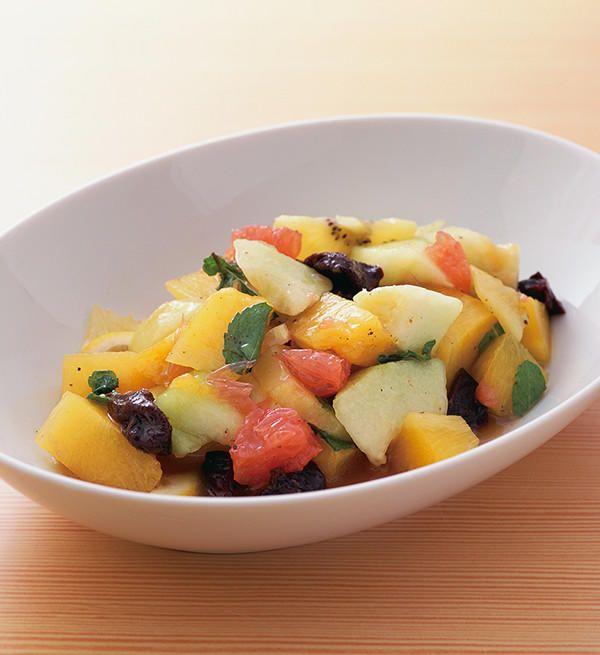 フルーツサラダ|プルーン レシピ|カリフォルニア プルーン協会