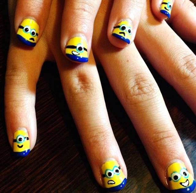 Minions nails!
