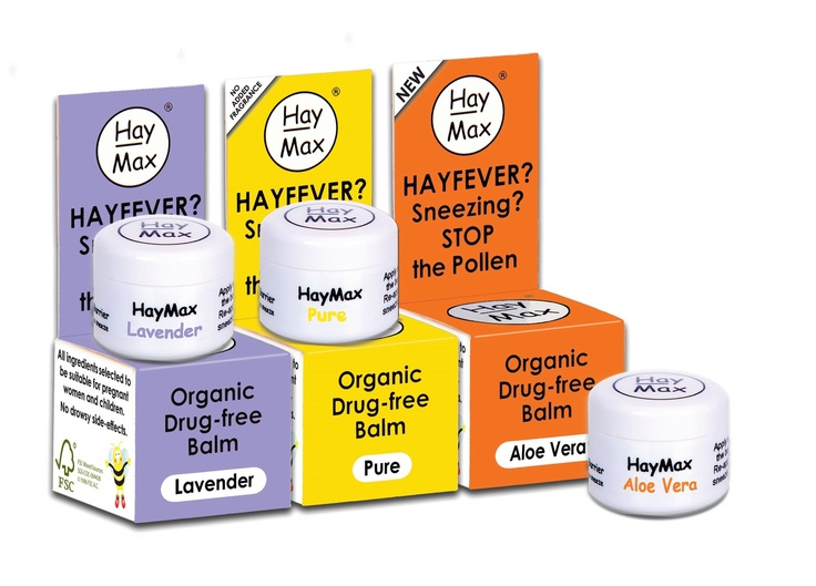 A natural salve for hayfever from our friends at HayMax
