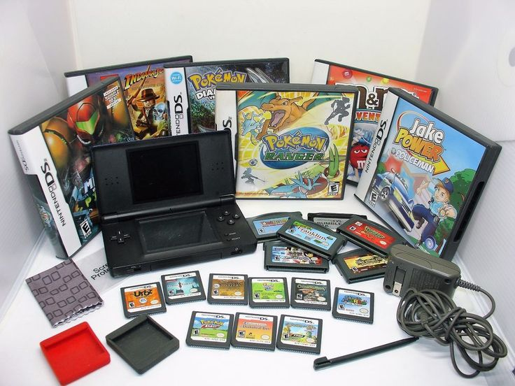 6 DS Games in cases: Pokemon Diamond Version, Pokemon Ranger, Jake Power Policeman, M&M's Adventure, Lego Indiana Jones 2, Metroid Prime Pinball. 9 loose DS Games: Pokemon Dash, Chronicles of Mystery, Lunar Knights, Children of Mana, Professor Layton & the Diabolical Box, Super Mario 64 DS, The Urbs Sims in the City, Drawn to Life, ZhuZhu Pets 2. | eBay!