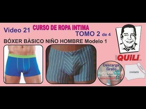 BOXER 21 TOMO 2 Curso de ropa intima. Link download: http://www.getlinkyoutube.com/watch?v=yzEsWAA0FgQ
