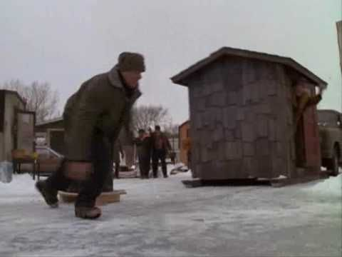 grumpy old men fence stand off / the great Ice war. LOVE THIS MOVIE...IT IS MY GUYS AND MY FAV SHOW TO WATCH TOGETHER