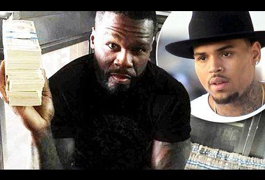 50 cent denies feud with Chris Brown over tour money