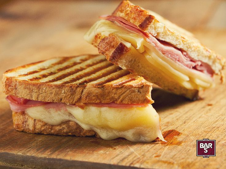 ham and cheese sandwich found a new best friend: your grill. Butter ...