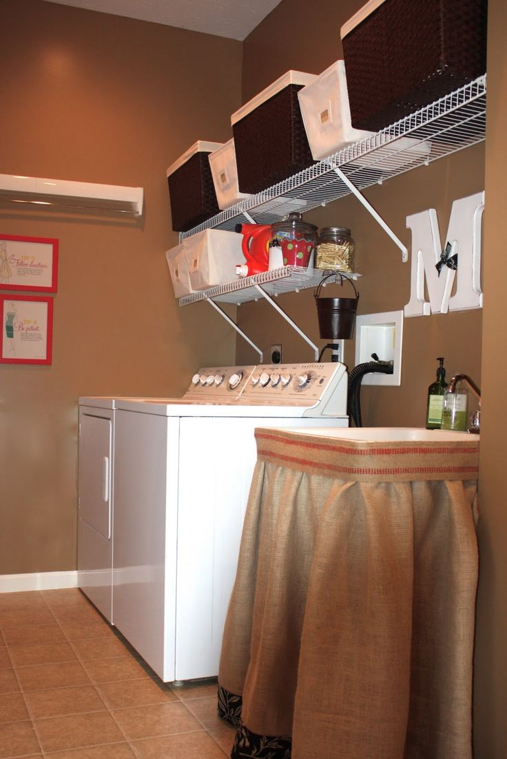 Antsi-Pants: Laundry Room Makeover - I don't want to go overboard with my makeover if we're going to sell in a couple of years