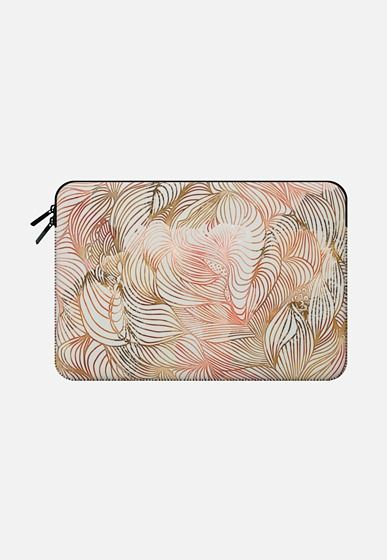Twisted clouds Macbook Pro Retina 13 sleeve by akwaflorell | Casetify