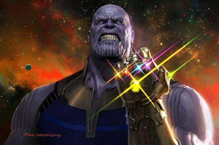 O pôster do Thanos em Vingadores: Guerra Infinita, divulgado na D23, ganhou sua versão com qualidade.