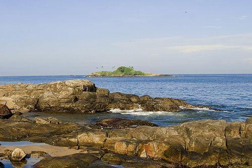 Rocks and Waves, Beruwala, Sri Lanka
