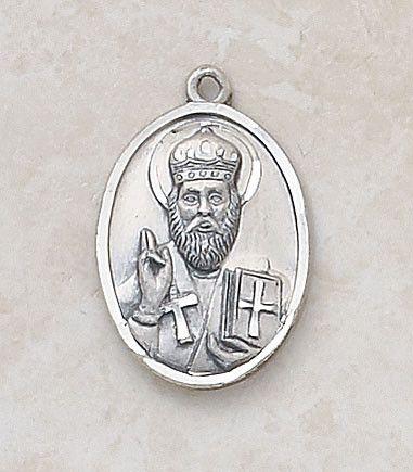Saint Nicholas Special Sterling Silver Devotion Medal