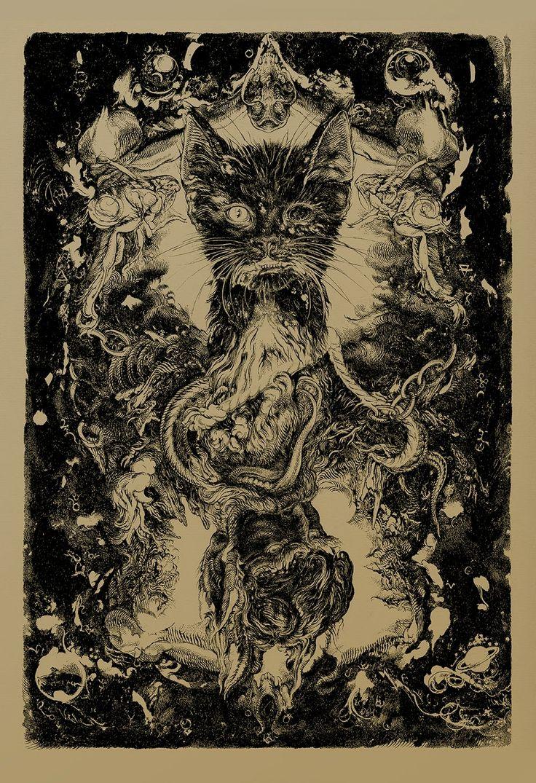 'The Black Cat' by Vania Zouravliov