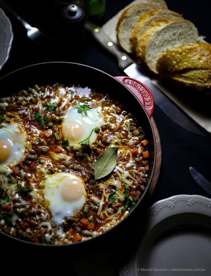 receita huevos rancheros