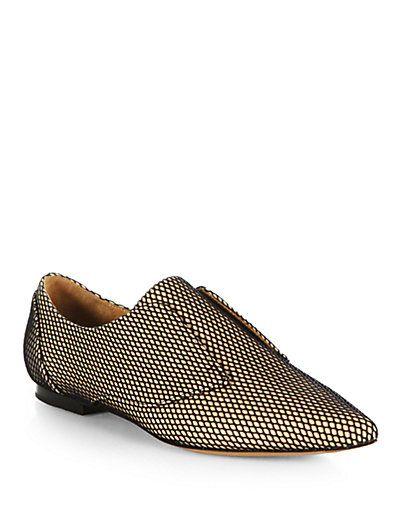 #WISHCLOUDS #Oxford #Mesh #FancyFootwear