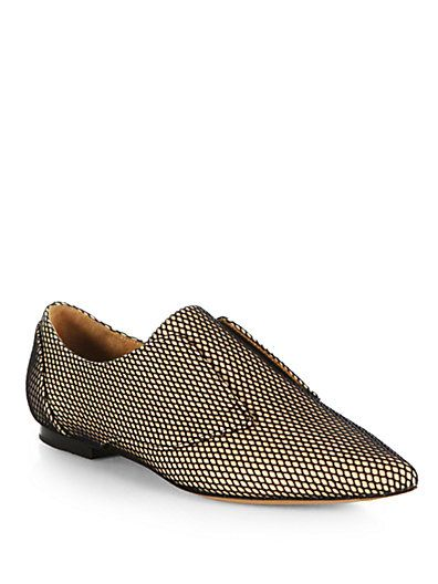 #WISHCLOUDS #Oxford #Mesh #FancyFootwear