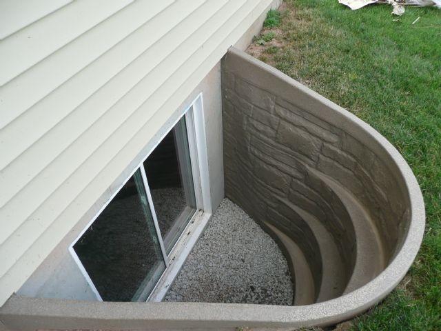 15 best images about basement egress window ideas on pinterest for Fiberglass well house
