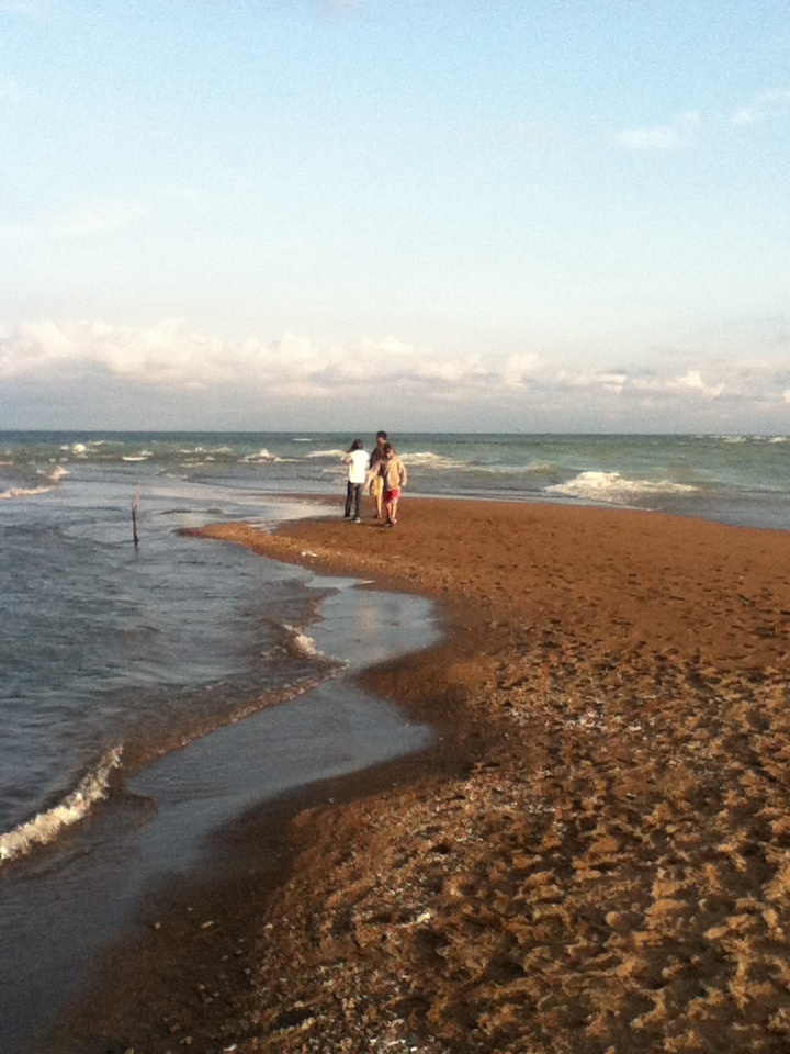 """The very most south tip of canada """"point pelee""""."""