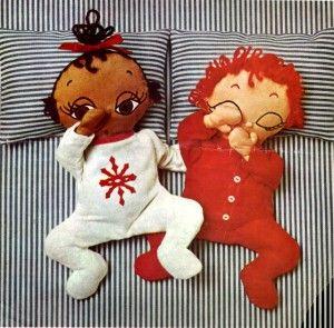Free sleepy babies doll pattern