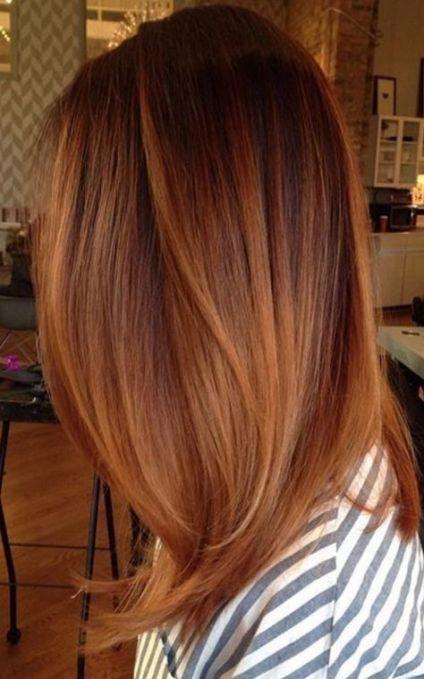 Hair ombre auburn brunettes 19 Ideas #redhair