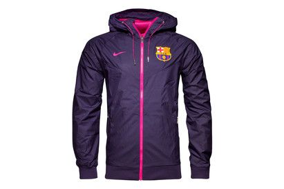 Nike FC Barcelona 16/17 Full Zip Windrunner Football Stay dry and warm in training or off the field with the FC Barcelona 16/17 Full Zip Windrunner Football Training Jacket, made by Nike, and prove your loyalty to Barca.This official Nike Windrunner Jac http://www.MightGet.com/february-2017-2/nike-fc-barcelona-16-17-full-zip-windrunner-football.asp